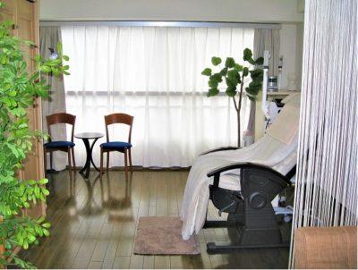 フェイシャルエステサロンエレガの施術室